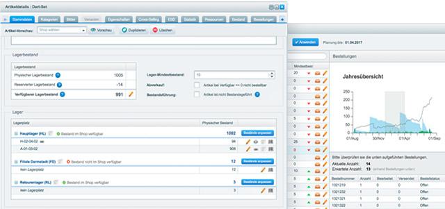 Shopware ERP - die integrierte Warenwirtschaft
